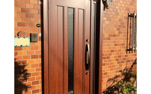 施工事例:玄関ドアの交換 大牟田市