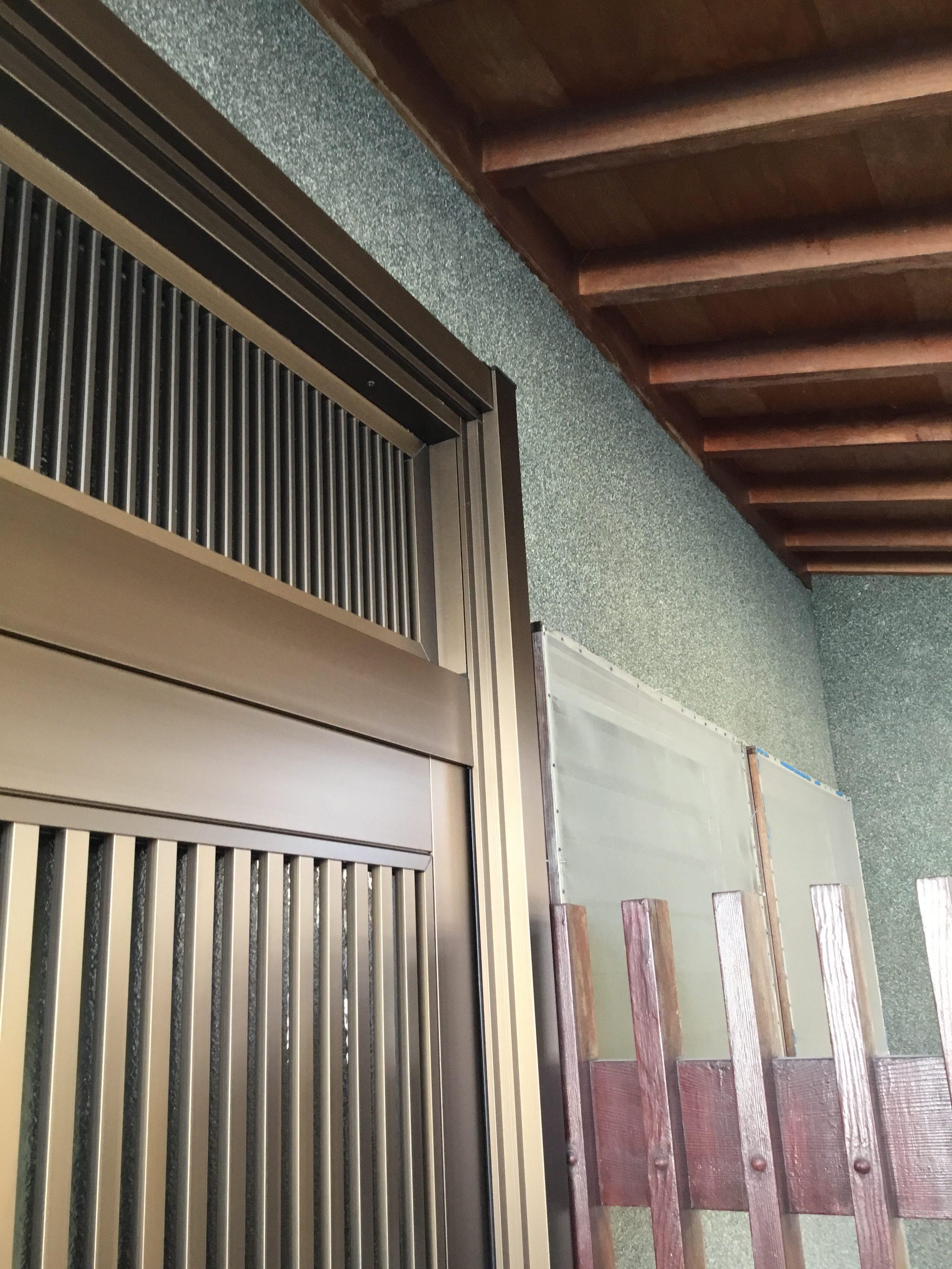福岡トーヨー 大牟田店の玄関リフォーム リシェント 取替の施工後の写真1