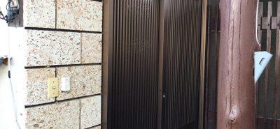 施工事例:玄関リフォーム リシェント 取替