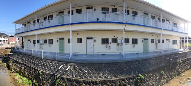 福岡トーヨー 大牟田店のアパートの玄関模様替えの施工事例写真