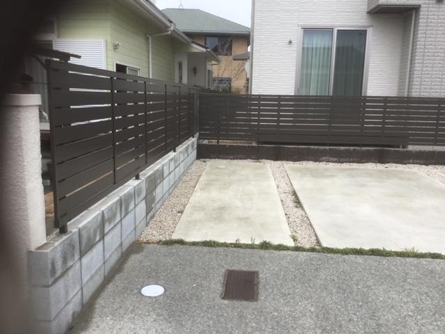 庭木をフェンスに 福岡トーヨー 大牟田店のブログ メイン写真