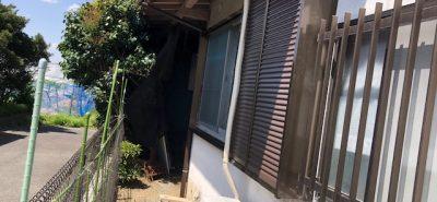 施工事例:10年以上 開かずの窓「雨戸」