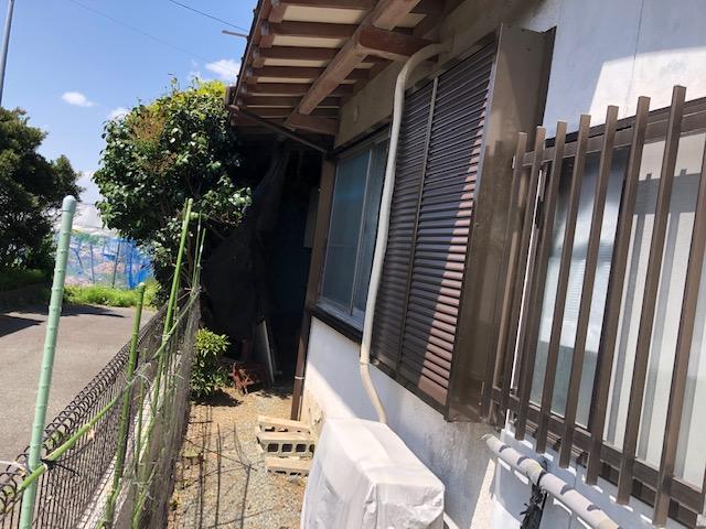 福岡トーヨー 大牟田店の10年以上 開かずの窓「雨戸」の施工後の写真1