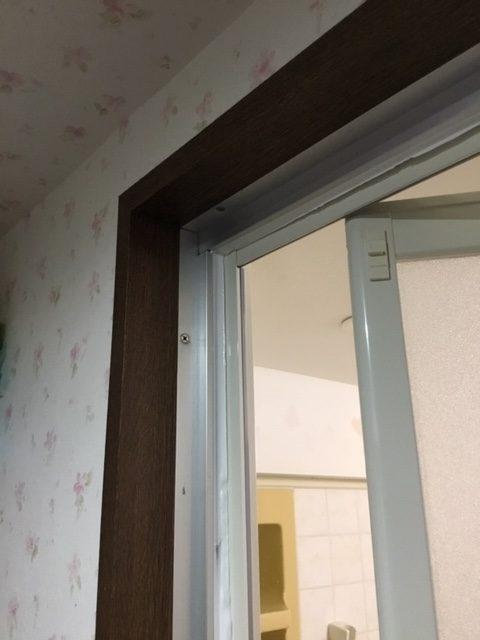福岡トーヨー 大牟田店の浴室出入口ドア取替の施工後の写真1
