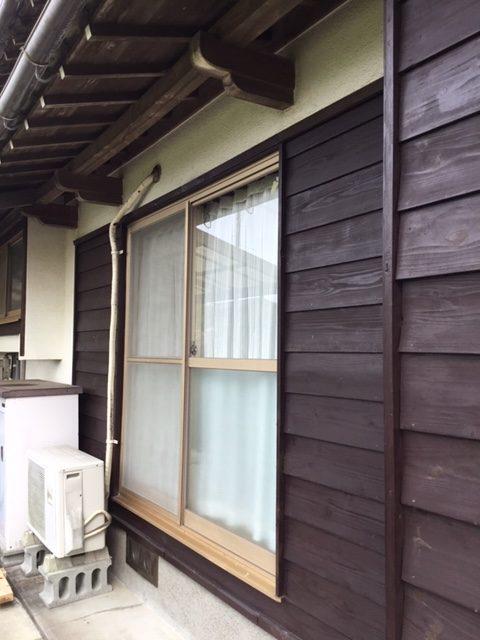 福岡トーヨー 大牟田店のお部屋明るく快適窓の施工前の写真1