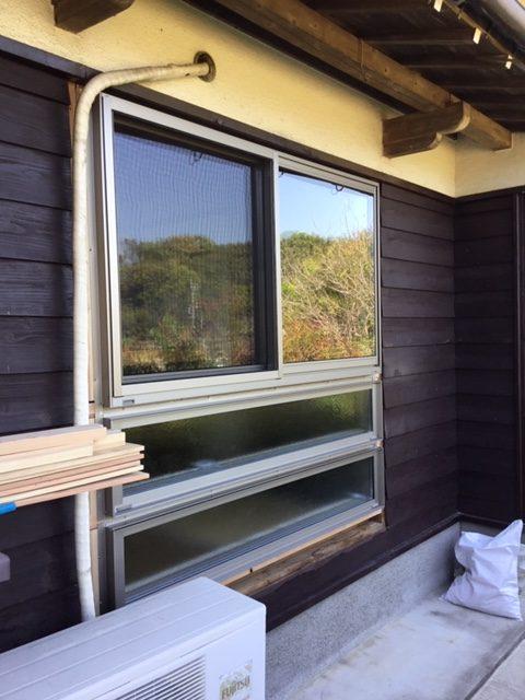 福岡トーヨー 大牟田店のお部屋明るく快適窓の施工後の写真1