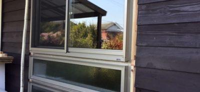 施工事例:お部屋明るく快適窓
