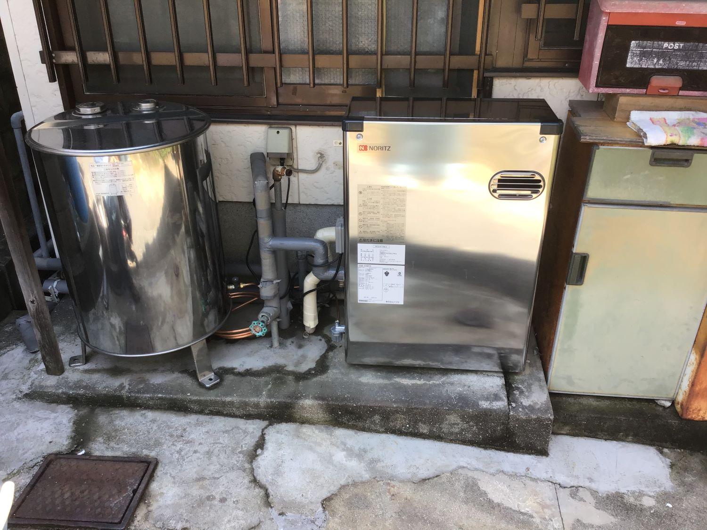 ボイラー故障前に交換。 福岡トーヨー 大牟田店の現場ブログ メイン写真