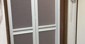 施工事例:浴室ドア 新しく