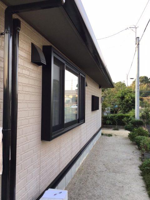 福岡トーヨー 大牟田店の菱クロス 格子新設の施工前の写真1