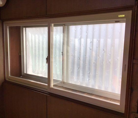 福岡トーヨー 大牟田店の防音 内窓の施工事例写真