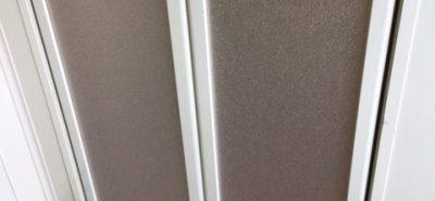 施工事例:浴室中折れドア 取替え