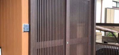 施工事例:玄関引戸を新しく