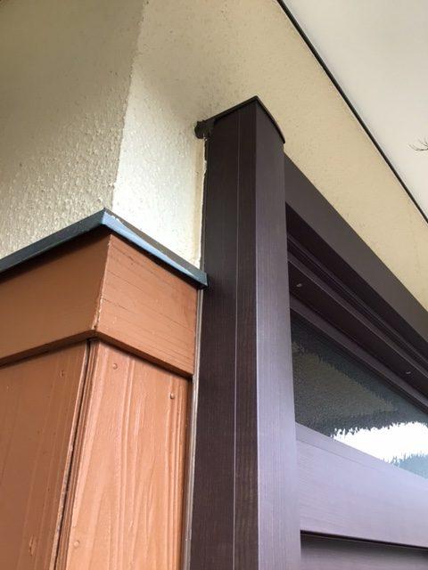 福岡トーヨー 大牟田店の玄関引戸を新しくの施工後の写真3