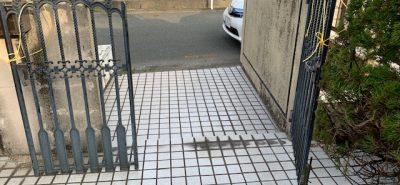 施工事例:鋳物いもの 門扉もんぴ 戸の交換
