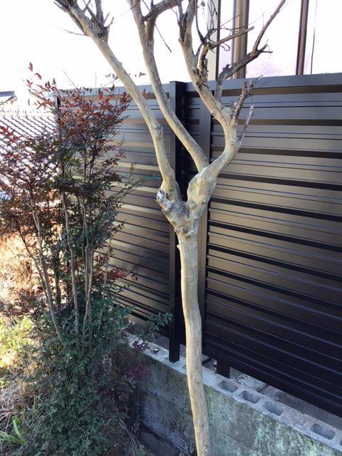 福岡トーヨー 大牟田店のフェンス設置の施工後の写真2