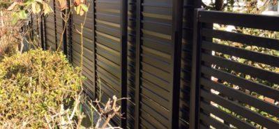 施工事例:フェンス設置
