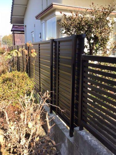 福岡トーヨー 大牟田店のフェンス設置の施工事例写真