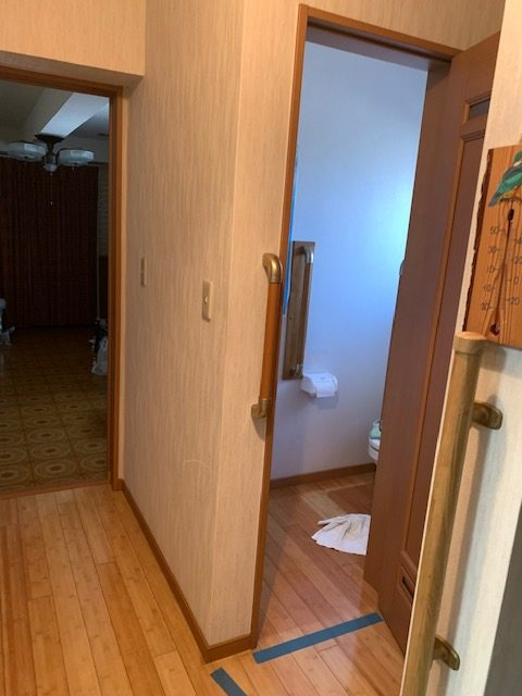 福岡トーヨー 大牟田店の身体のリハビリも考慮した使い易いトイレ空間にリフォームしたいの施工事例写真