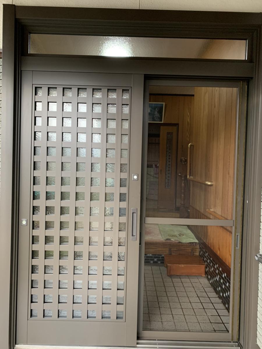 福岡トーヨー 大牟田店の1day リシェント玄関の施工後の写真2