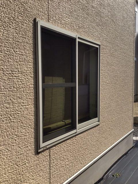 福岡トーヨー 大牟田店のリフォームシャッターの施工前の写真2