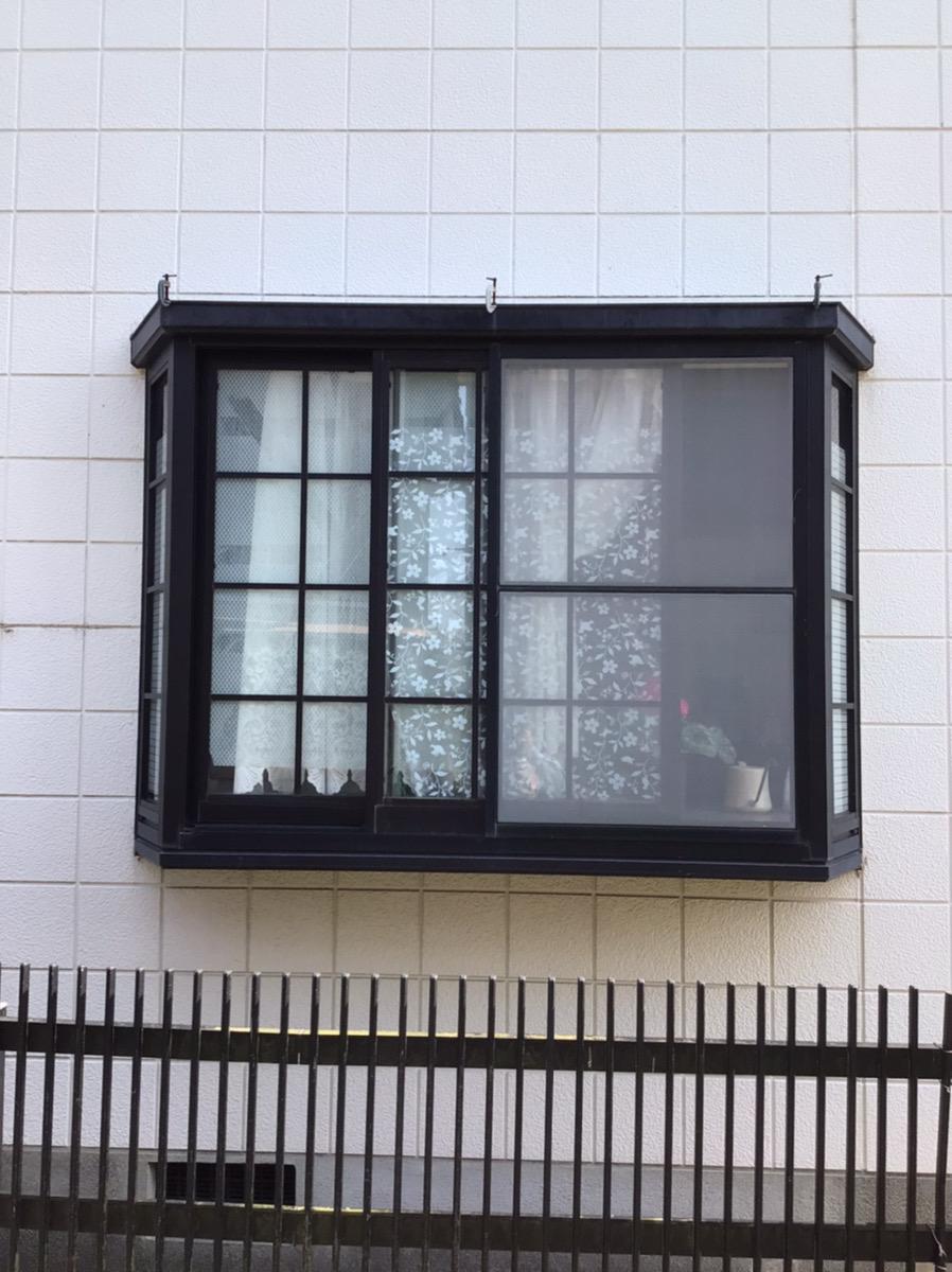 福岡トーヨー 大牟田店の格子 取付の施工前の写真1