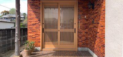 施工事例:1dayリフォーム 玄関引戸