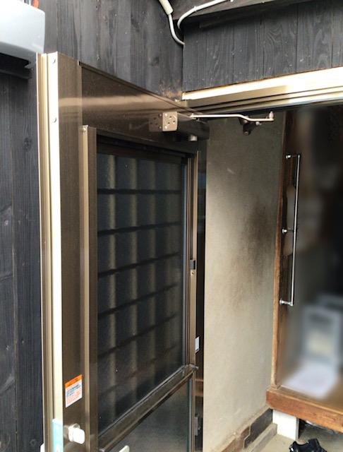 福岡トーヨー 大牟田店の1 day リフォーム 勝手口の施工後の写真2