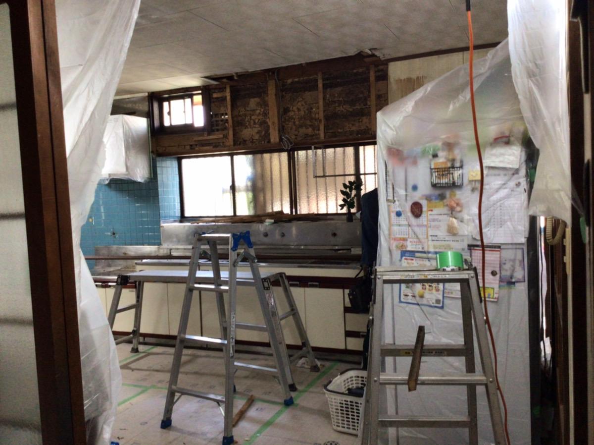 福岡トーヨー 大牟田店のキッチン 取り換えちゃいました♡の施工前の写真2