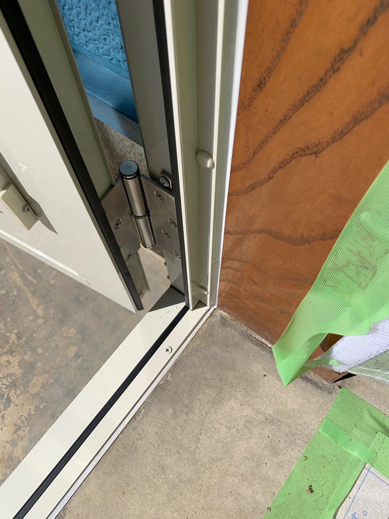 福岡トーヨー 大牟田店の勝手口リシェントの施工後の写真3