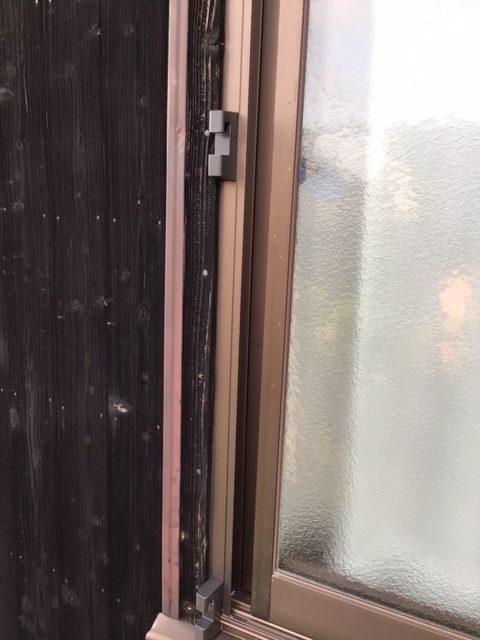 福岡トーヨー 大牟田店の外カーテン・掃出し建具の施工後の写真2