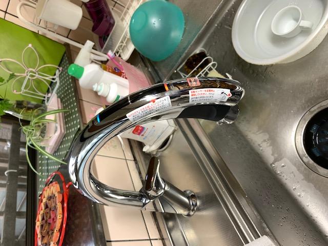福岡トーヨー 大牟田店の☆☆ タッチレスハンズフリー水栓で快適に ☆☆☆彡の施工後の写真1