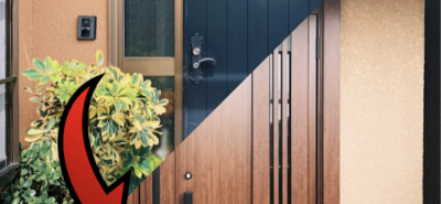 施工事例:たった1日で玄関を取り替え!?玄関リシェント工事🚪